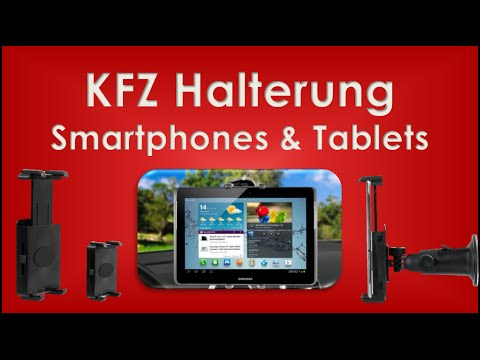 kfz halterung f r smartphone und tablet wicked chili review german hd youtube. Black Bedroom Furniture Sets. Home Design Ideas