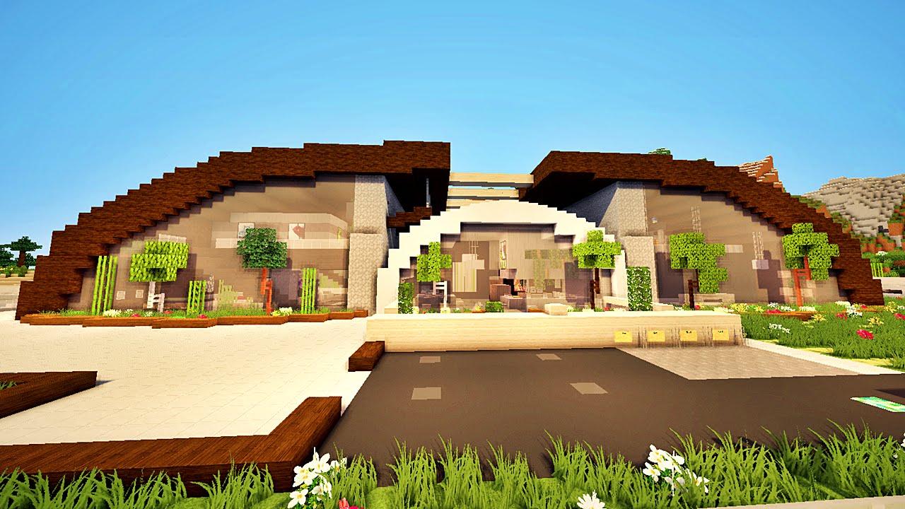 Pleins De Bonnes Idees Sur Cette Maison Sur Minecraft Youtube
