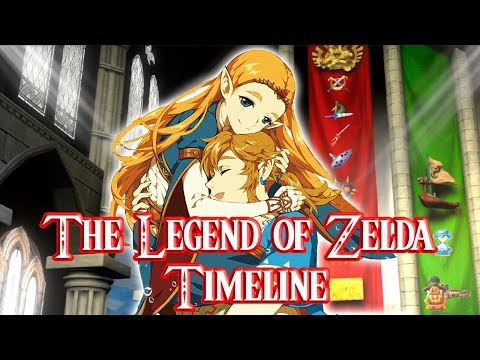 The Legend of Zelda Timeline (Official Breath of the Wild Placement)