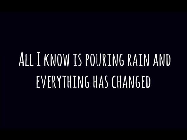 Taylor Swift -  Everything Has Changed Ft Ed Sheeran [Lyrics]