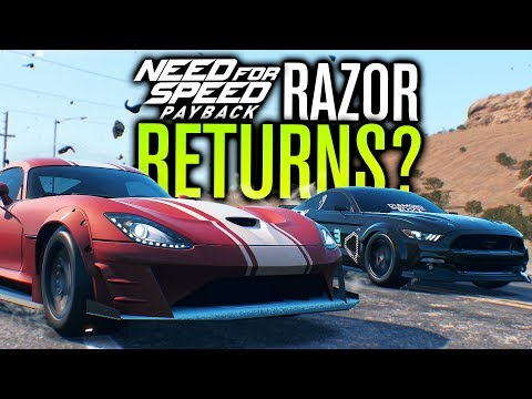 Need for Speed Payback Let's Play | RAZOR RETURNS & VIPER DRAG BUILD! | Episode 14