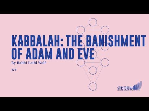 Kabbalah: The Banishment of Adam and Eve - Rabbi Laibl Wolf, Spiritgrow - Josef Kryss Center