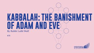 Kabbalah: The Banishment of Adam and Eve - Rabbi Laibl Wolf, Spiritgrow - Josef Kryss Center