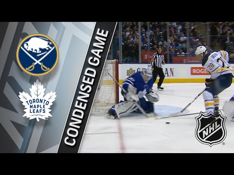 04/02/18 Condensed Game: Sabres @ Maple Leafs
