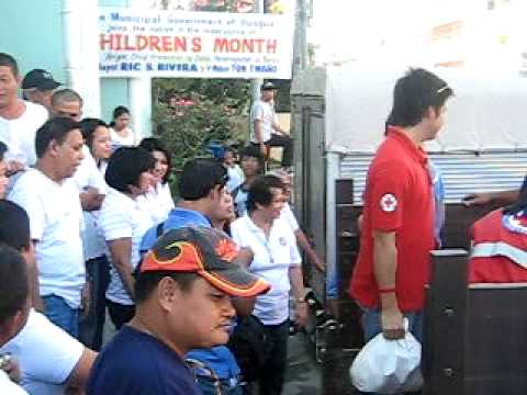The Philippine National Red Cross Disaster Relief Operation  @ Guagua - 10/28/09