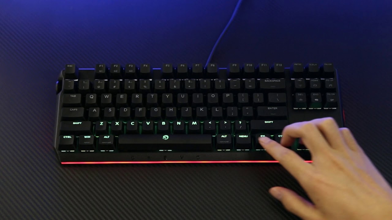 4399def8dee DREVO BladeMaster Keyboard Guide | How to activate the basic functions?
