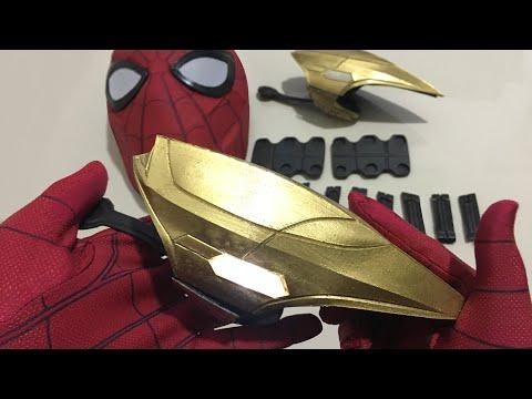 Unboxing Avenger Infinity War (Ironspider Webshooter's & Web cartridge)