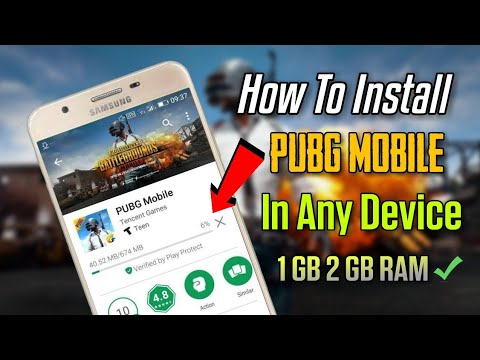 How To Install PUBG Mobile On Any Device | 1 GB 2 GB RAM Phones 100% Working