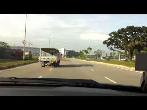 Route to CAE - 2 Seletar Aerospace Link
