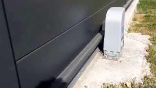 Moteur DEA sur portail aluminium