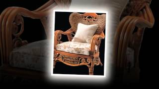 видео НЕДОРОГАЯ плетеная мебель из ротанга в Москве.