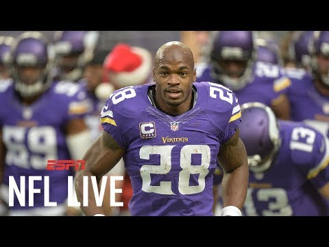 Saints In Awe Of Adrian Peterson   NFL Live   ESPN