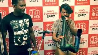 THAALAVATTAM ORGANIC GROOVES LIVE AT RED FM 93.5 BANGALORE