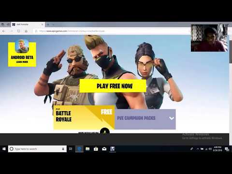 How To Download And Install Fortnite On Laptop/pc