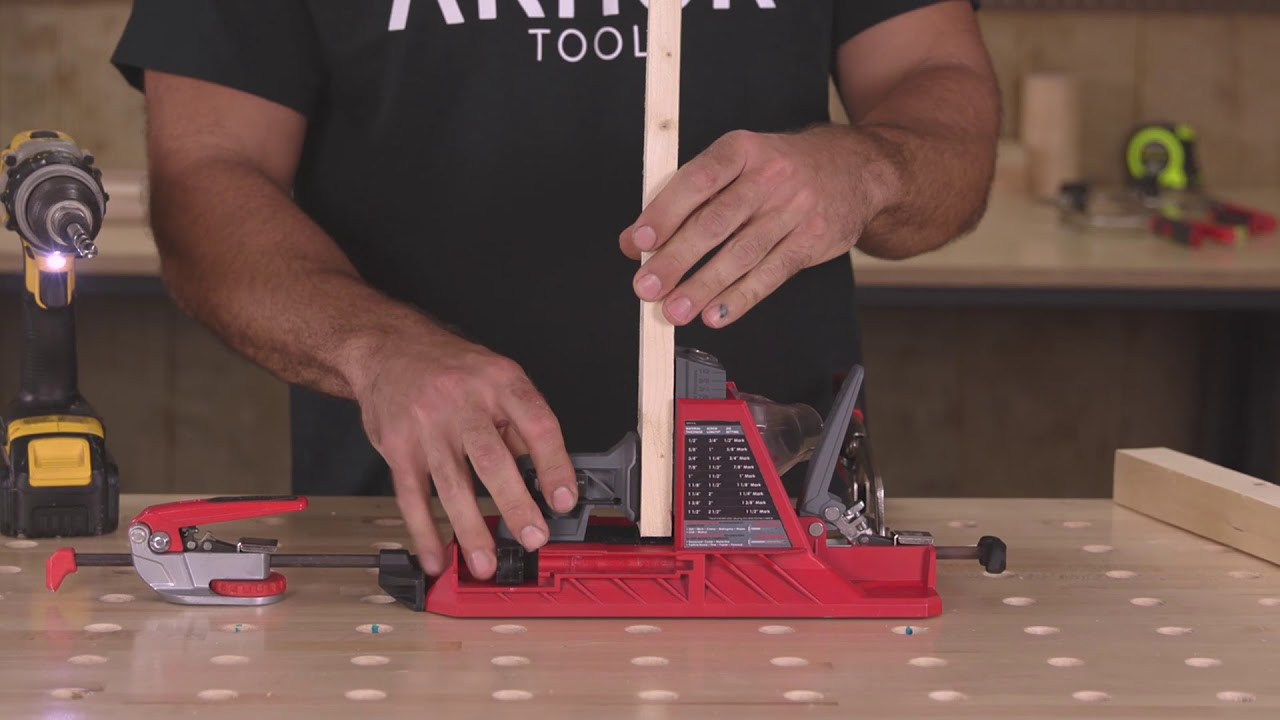 Armor Tools Auto-Jig: Changing The Way Pocket Holes Are Made!
