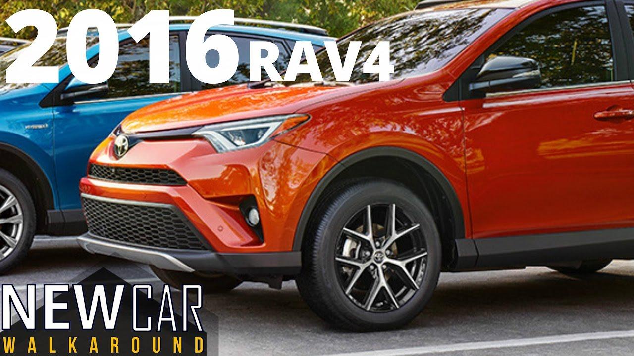 2016 Toyota Rav4 Le In Depth Walkaround Startup Exterior Interior Trunk You