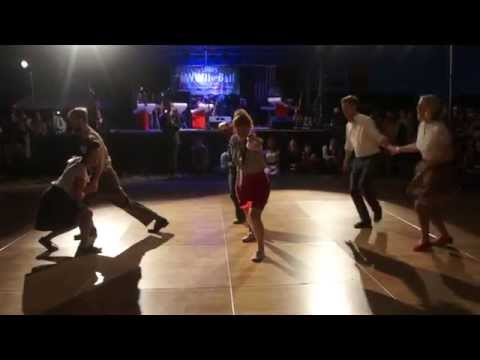 Boulder Swing Dance Level 3 Class Performance at the 1940s Ball