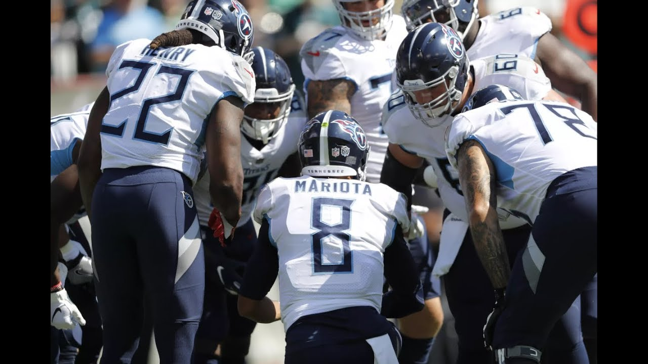 1151d114 Mike Keith announcing Tennessee Titans Game Winning TD drive vs the Eagles  in OT 2018