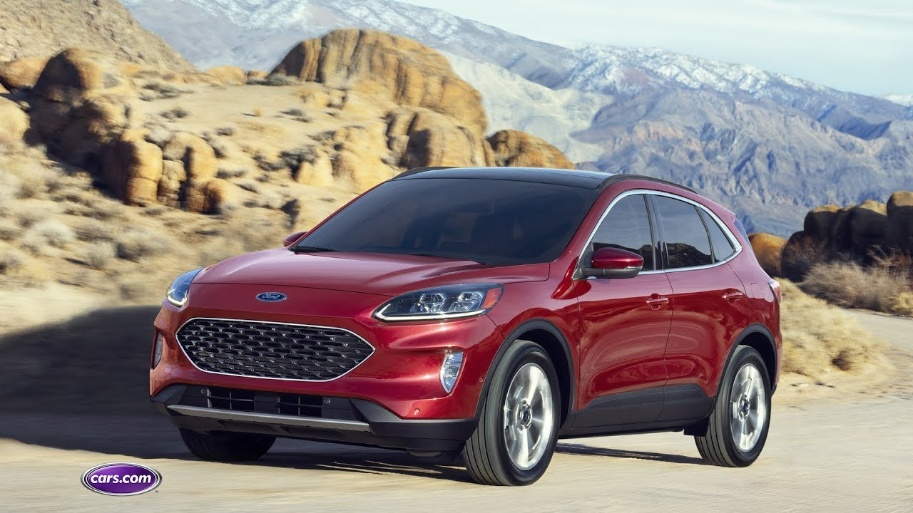 2020 Ford Escape: First Look — Cars.com