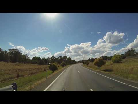 Video 504 - Hume Highway to Culcairn via the Olympic Highway