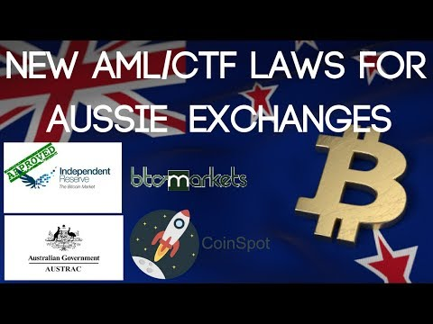 NEW REGULATIONS FOR AUSSIE CRYPTO EXCHANGES...