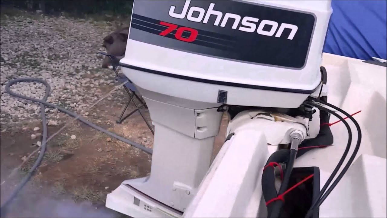 1992 Evinrude 70 - Smokey at idle, good at all other speeds