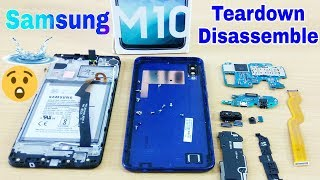 Teardown & Disassemble Samsung Galaxy M10 || Replace Parts Samsung M10 | Display, Battery, Button