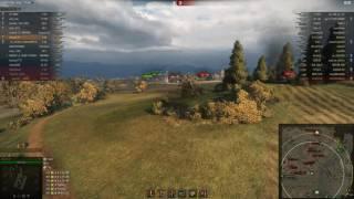 Т-54, Редшир, Стандартный бой