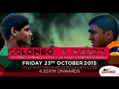 Colombo v Kandy combined schools rugby encounter