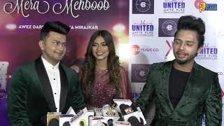 Awez Darbar Nagma & Stebin Full Exclusive Interview Mera Mehboob Song Launch