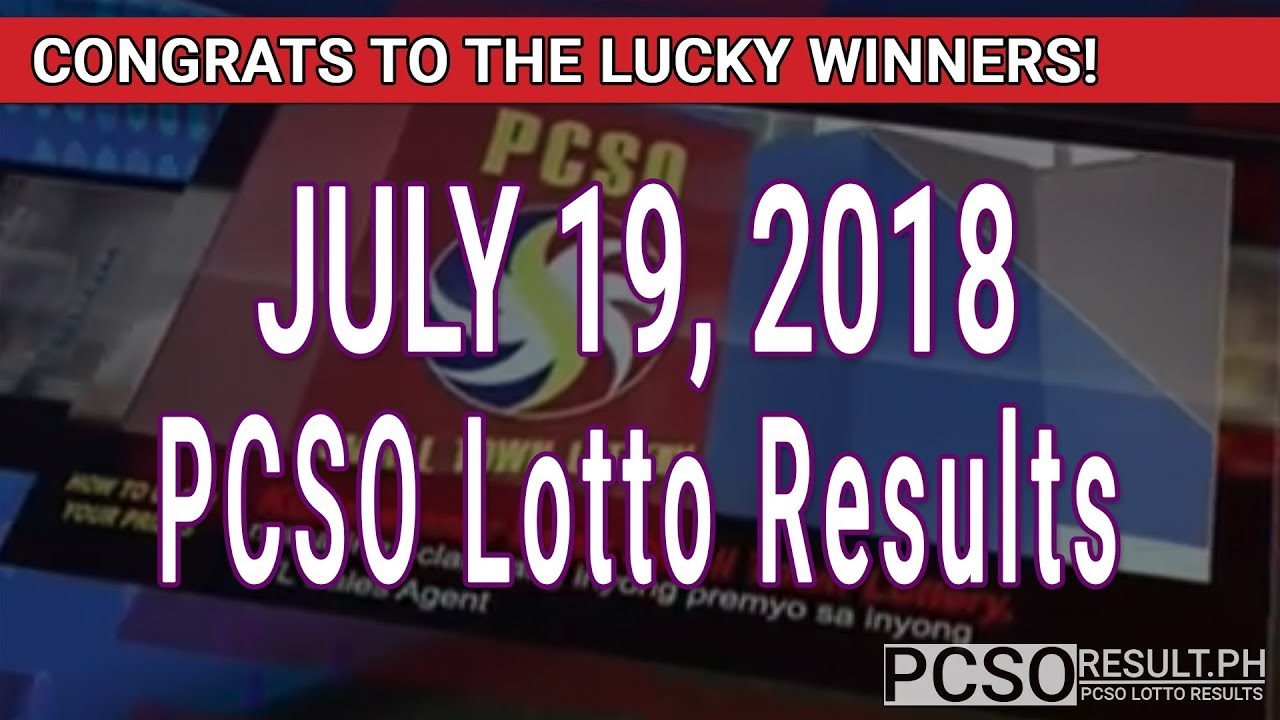 Pcso Lotto Results Today July   D Swertres Stl Ez