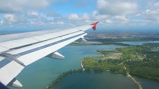 Video AirAsia Airbus A320 BEAUTIFUL Landing at Bali, Indonesia download MP3, 3GP, MP4, WEBM, AVI, FLV Juni 2018