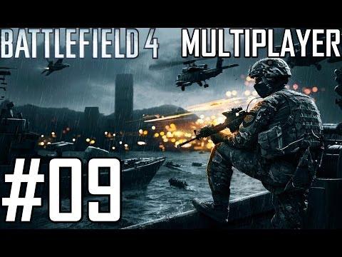 Let's Play Battlefield 4 Multiplayer #09 German [Team Deathmatch / Lancang Damm & Flutgebiet]
