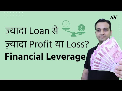 Financial Leverage - Explained in Hindi