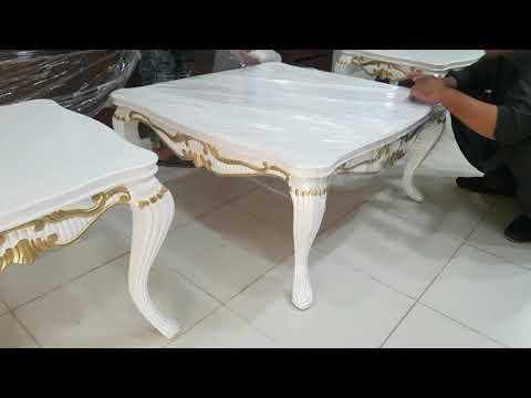 Center table set for previous sofa set