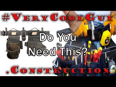 Do You REALLY Need A Good Tool Belt For Work?