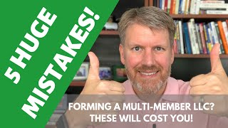How to Pay Yourself in a Multi-Member LLC - 5 Biggest Mistakes! Video