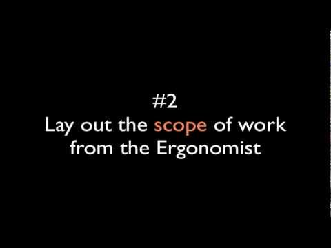ergoBeFit - Tips when working with an Ergonomist