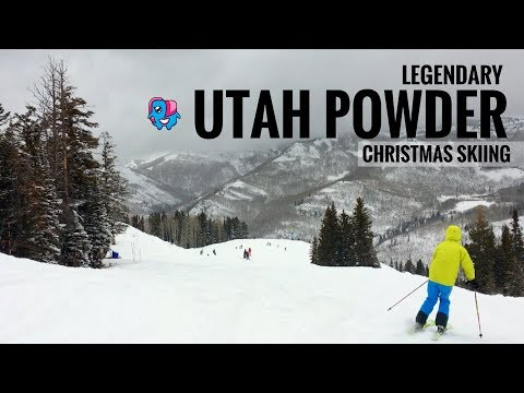 Legendary Utah Pow: Solitude Ski Resort and Canyons/Park City Ski Resort, Salt Lake City, Utah