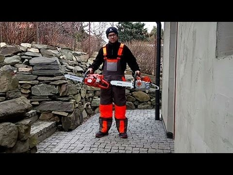 chainsaw husqvarna 560 xp versus chainsaw stihl ms 261 test youtube. Black Bedroom Furniture Sets. Home Design Ideas