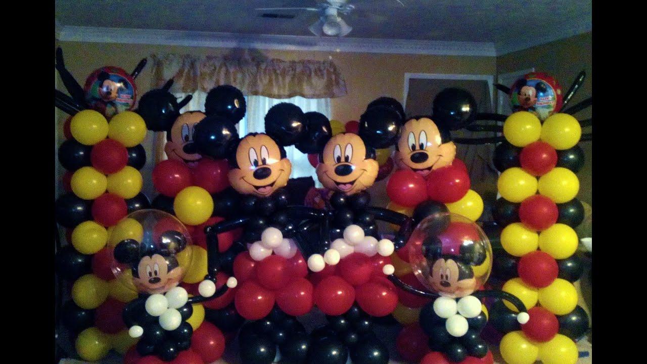 Mickey Mouse Balloon Arch - YouTube on toy story 3 balloons, thomas the tank engine balloons, ben 10 balloons, hello kitty balloons, minnie mouse balloons, star wars balloons, bob the builder balloons, dora the explorer balloons, peppa pig balloons, disney balloons, barbie balloons, angry birds balloons, sesame street balloons,