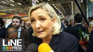 Salon International de l'Agriculture 2019 - Marine Le Pen / Paris - France 28 février 2019