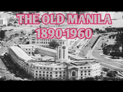 NOSTALGIC PHOTO OF THE OLD MANILA