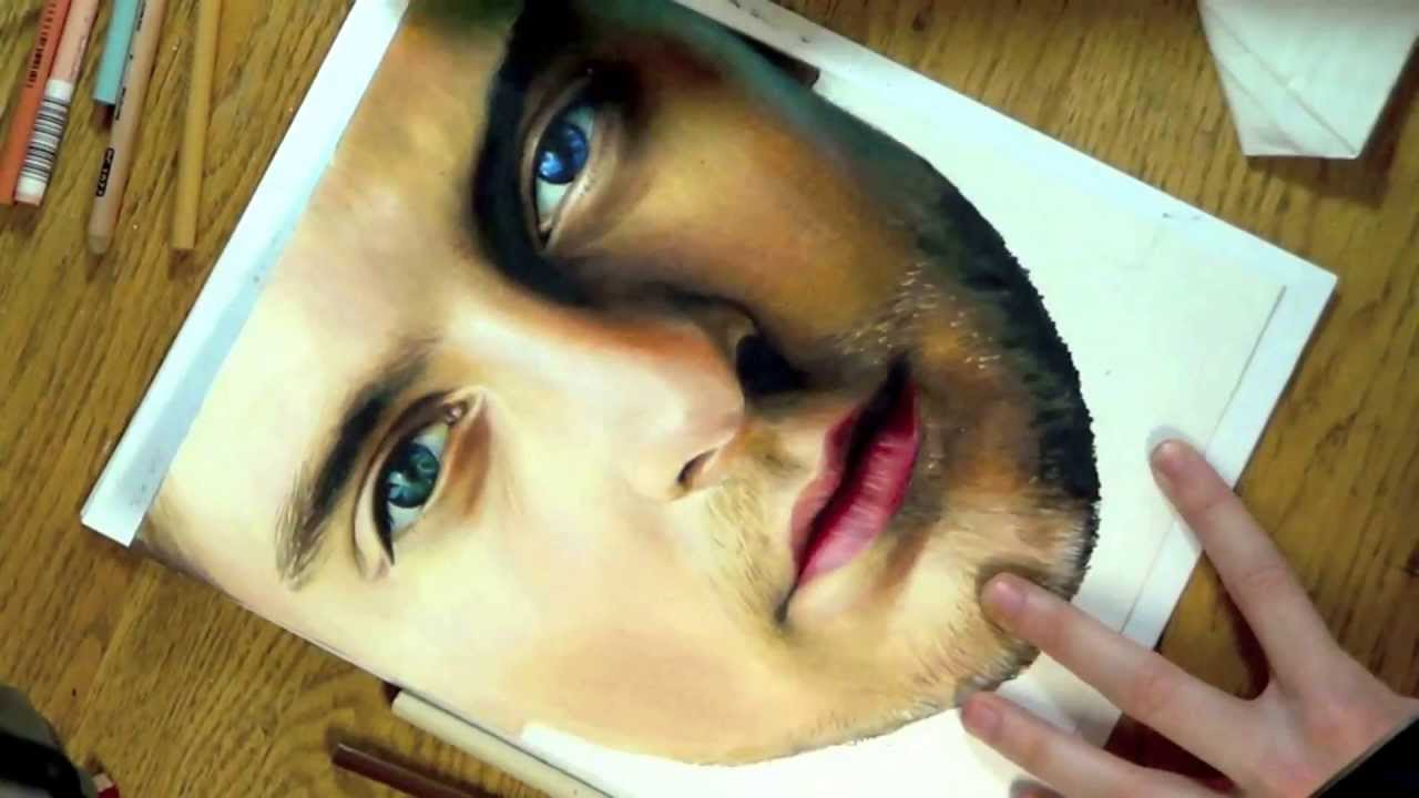 Drawing Tobey Maguire ...