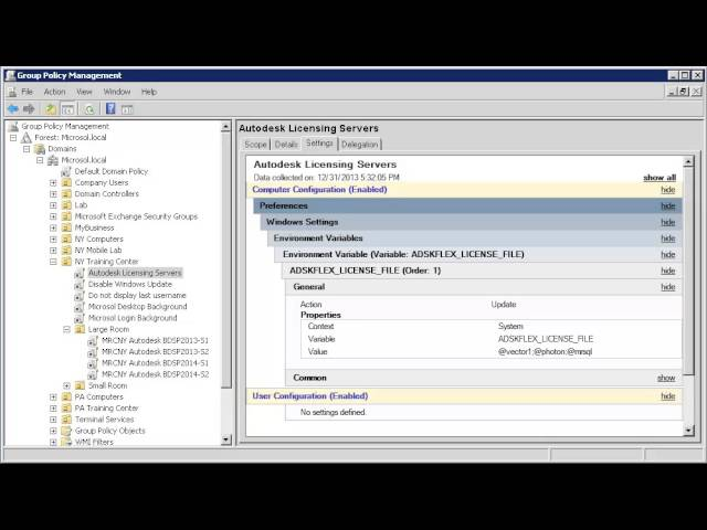 Moving Autodesk License Servers via Group Policy – TheJame's Weblog