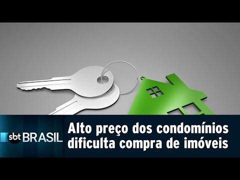 Aumento no valor dos condomínios dificulta compra de imóveis | SBT Brasil (01/08/18)