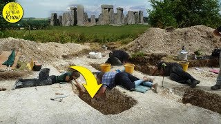 Archaeologists Near Stonehenge Have Unearthed The Remains Of A Mysterious 6th Century Warrior