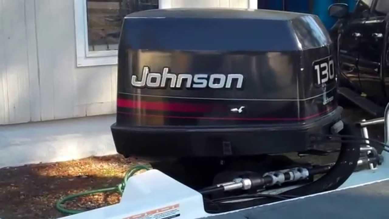 johnson 130hp engine running youtube rh youtube com 1996 Johnson 15 HP Outboard 1996 Johnson 25 HP Outboard