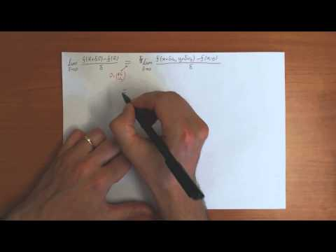 10a) Calculus in Higher Dimensions: Introduction