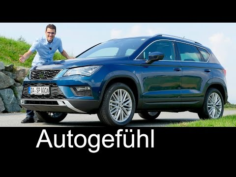 Seat Ateca Xcellence FULL REVIEW test driven 1.4 TSI all-new neu 2017 - Autogefühl